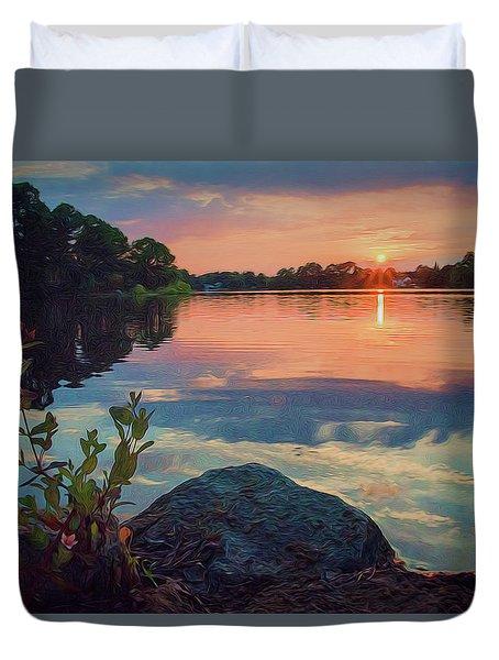 August Sunset Duvet Cover