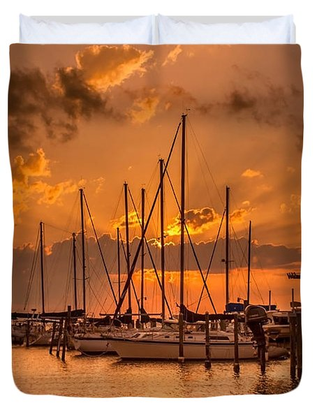 August Sunset Duvet Cover
