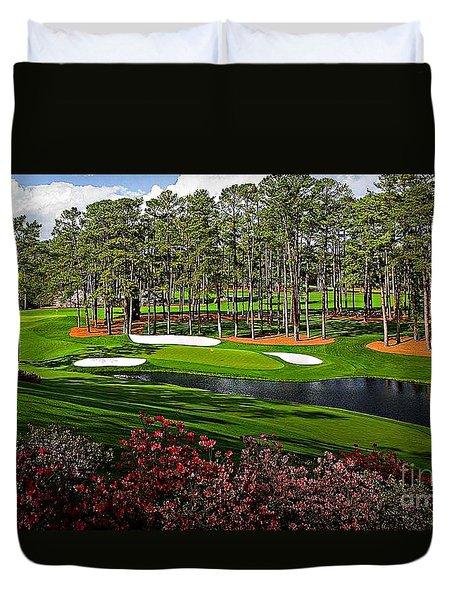 Augusta National Gc #16 Duvet Cover