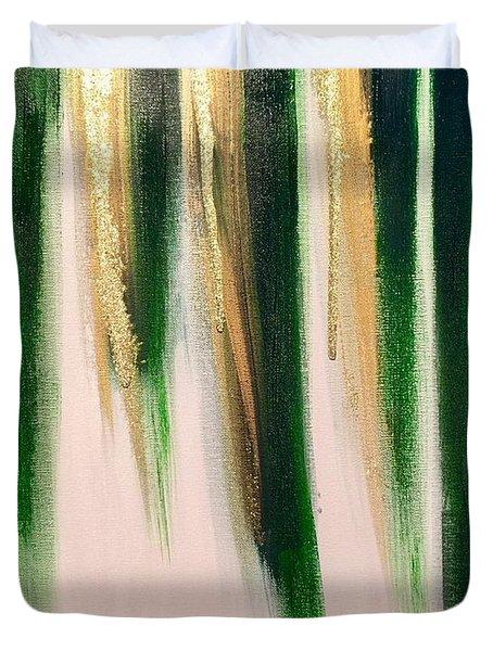 Aurelian Emerald Duvet Cover