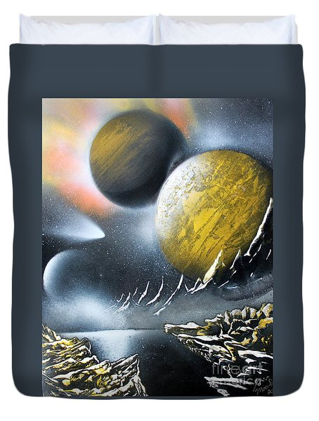 Aurora Duvet Cover by Greg Moores