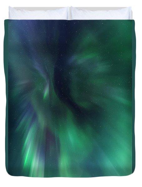 Aurora Kaleidoscope Duvet Cover