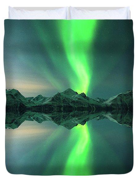 Aurora Powersurge Duvet Cover