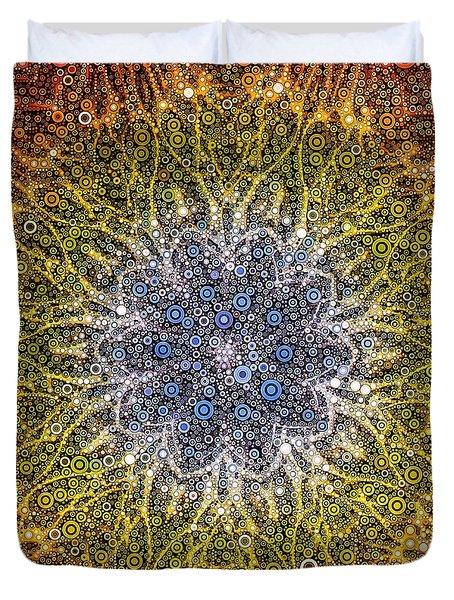 Aurora Sunrose Duvet Cover