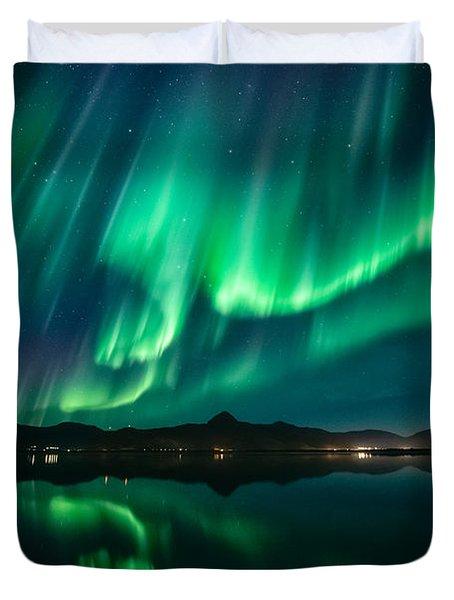 Aurora Surprise Duvet Cover