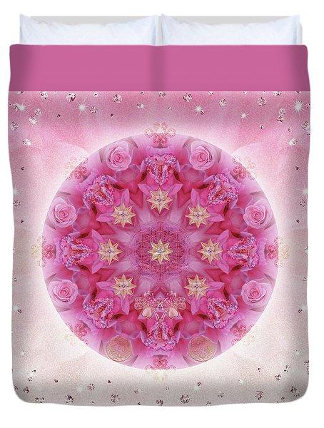 Auspicious Adoration Duvet Cover