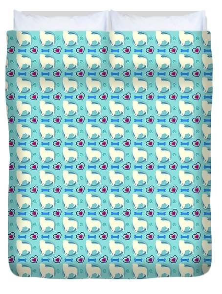 Aussie Dog Pattern Duvet Cover