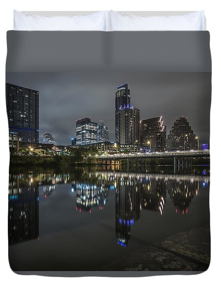 Austin As Gotham Duvet Cover