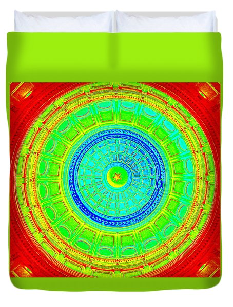 Austin Capitol Dome - 2 Duvet Cover