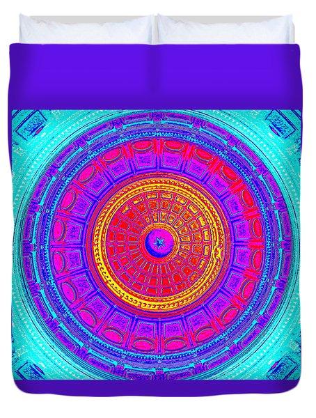 Austin Capitol Dome - 4 Duvet Cover