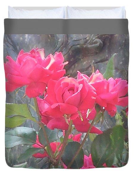 Austin Roses Duvet Cover