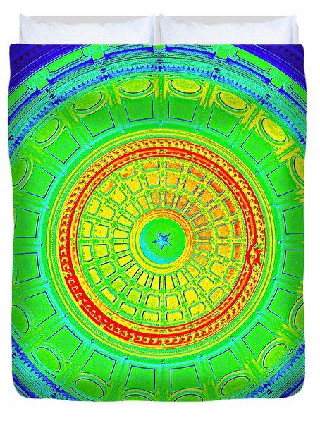 Austin Capitol Dome - 3 Duvet Cover