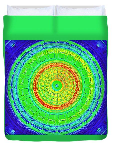 Austin Dome - B Duvet Cover