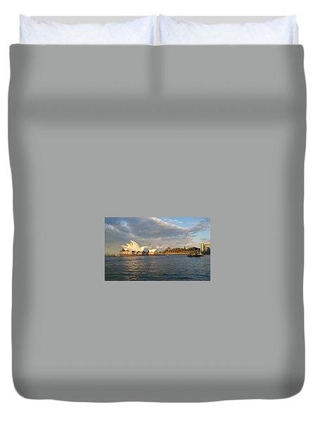 Australia Opera House Duvet Cover