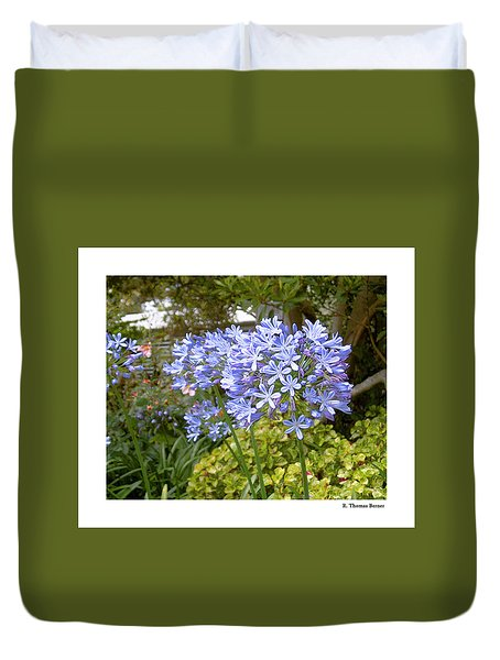 Duvet Cover featuring the photograph Australia Plant Life by R Thomas Berner