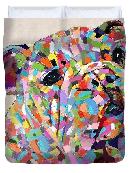 Australian Bulldog  Duvet Cover
