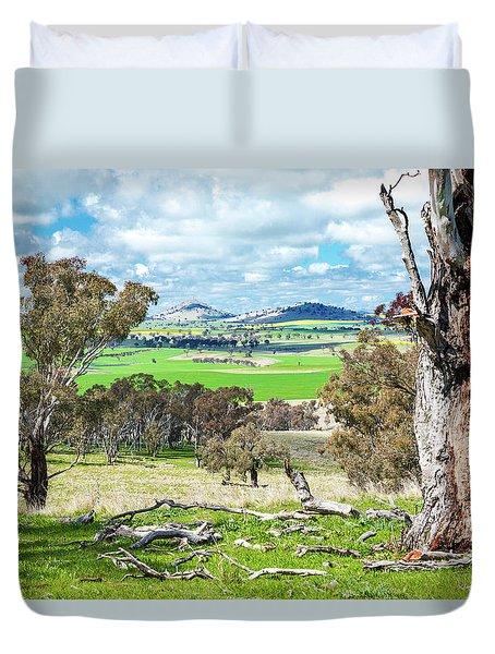 Australian Countryside Duvet Cover