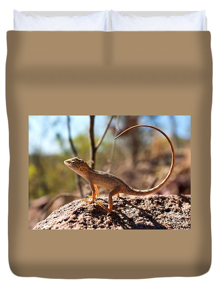 Australian Dragon Duvet Cover by Bill  Robinson