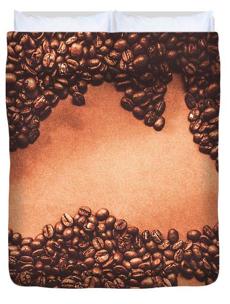 Australian Made Coffee Duvet Cover