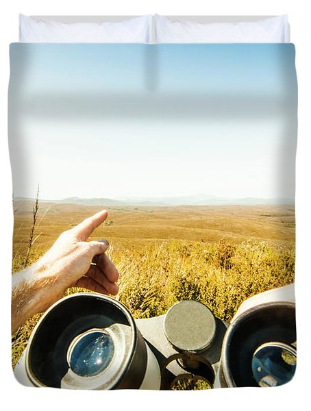 Australian Safari Duvet Cover
