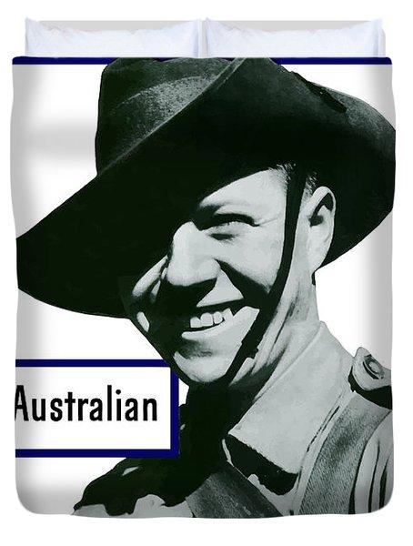 Australian This Man Is Your Friend  Duvet Cover