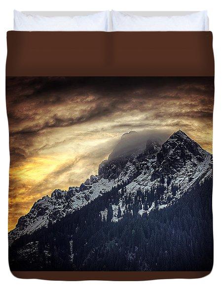 Austrian Sunset Duvet Cover