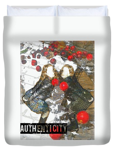 Authenticity Duvet Cover
