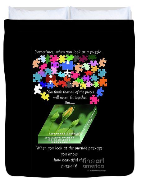 Autism, The Outside Package 2 Duvet Cover
