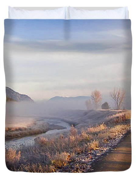 Auto Tour Duvet Cover