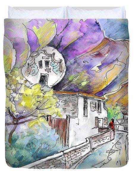 Autol In La Rioja Spain 03 Duvet Cover by Miki De Goodaboom