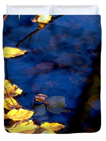 Autum Leaves Duvet Cover by Michael Mogensen