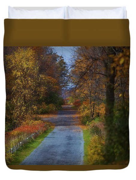 Autumn Wanderings Duvet Cover