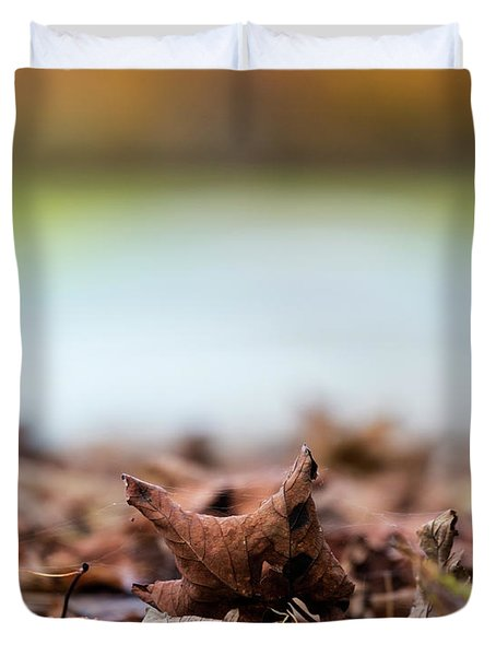 Autumn Abstract Duvet Cover