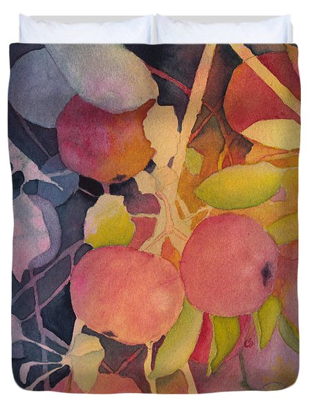 Autumn Apples Duvet Cover