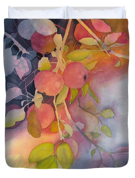 Autumn Apples Full Painting Duvet Cover
