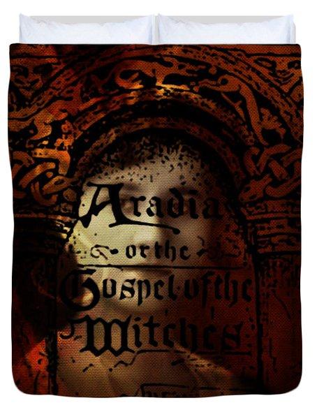 Autumn Aradia Witches Gospel Duvet Cover