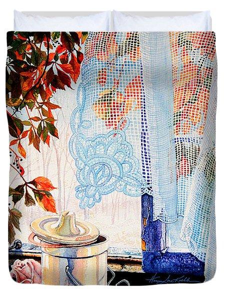 Autumn Aromas Duvet Cover by Hanne Lore Koehler