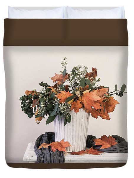 Autumn Arrangement Duvet Cover