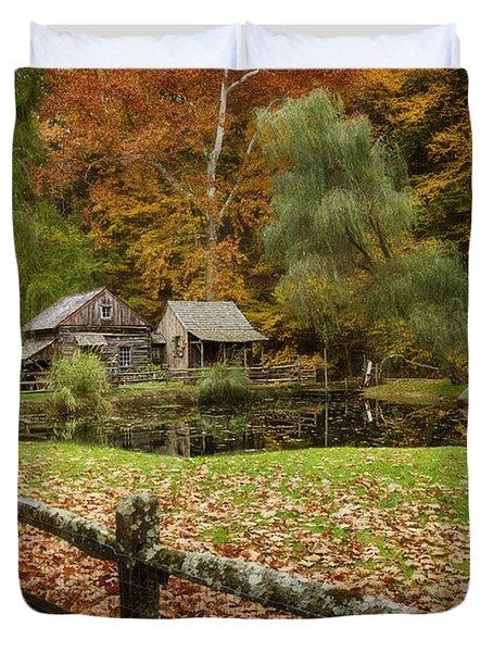 Autumn At Cuttalossa Farm V Duvet Cover