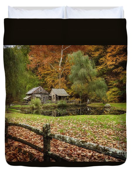 Autumn At Cuttalossa Farm V Duvet Cover