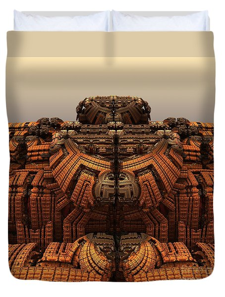 Autumn At The Thunderball Dome Duvet Cover