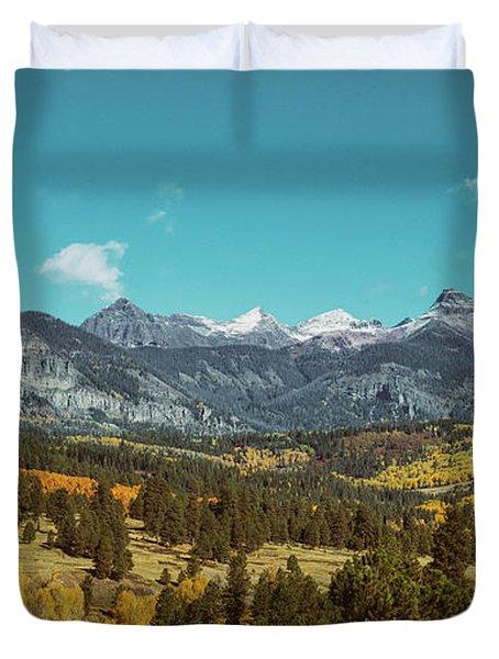 Autumn At The Weminuche Bells Duvet Cover