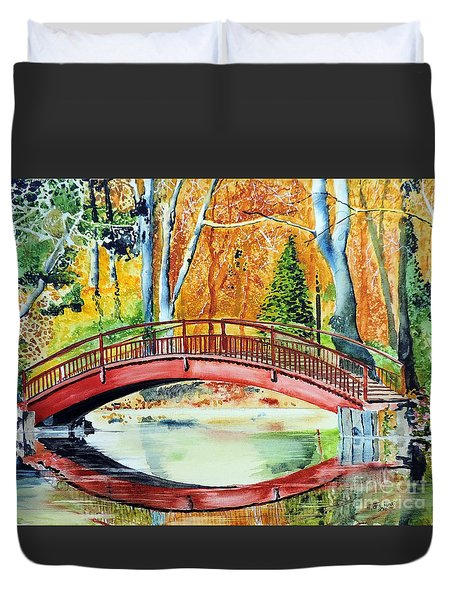 Autumn Beauty Duvet Cover