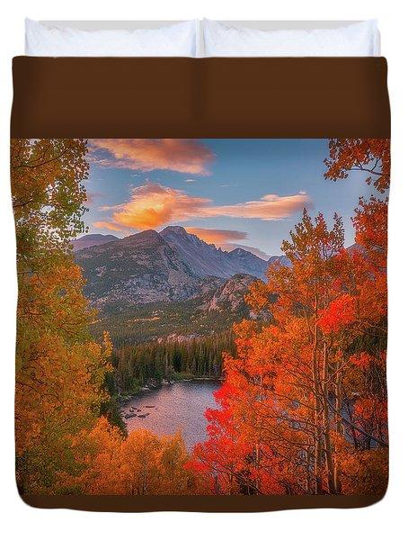 Autumn's Breath Duvet Cover