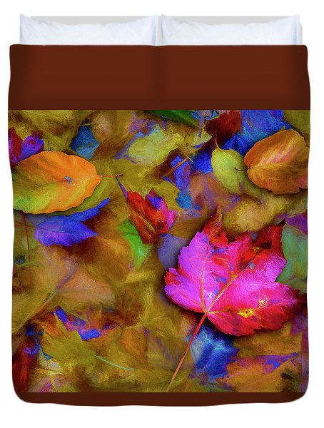 Autumn Breeze Duvet Cover