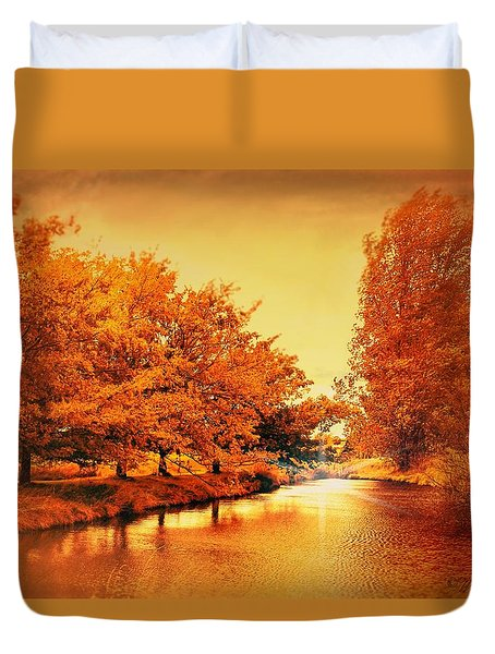 Autumn Breeze Duvet Cover by Wallaroo Images