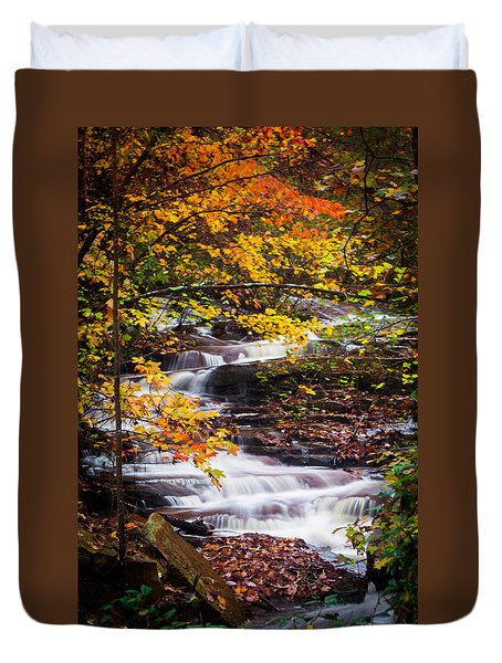 Autumn Cascade  Duvet Cover