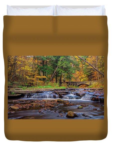 Autumn Cascades Duvet Cover