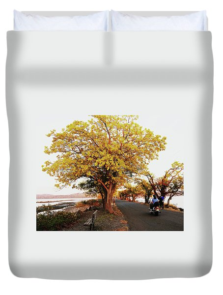 Autumn Causeway Duvet Cover