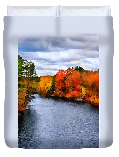 Autumn Channel Duvet Cover